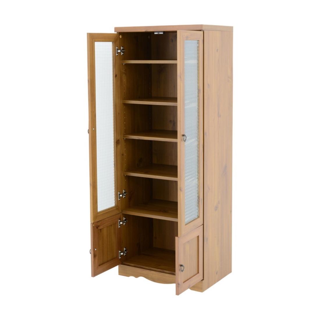 送料無料 オシャレ 家具 台所 収納 Bistro(ビストロ)食器棚 カップボード(60cm幅) オシャレ