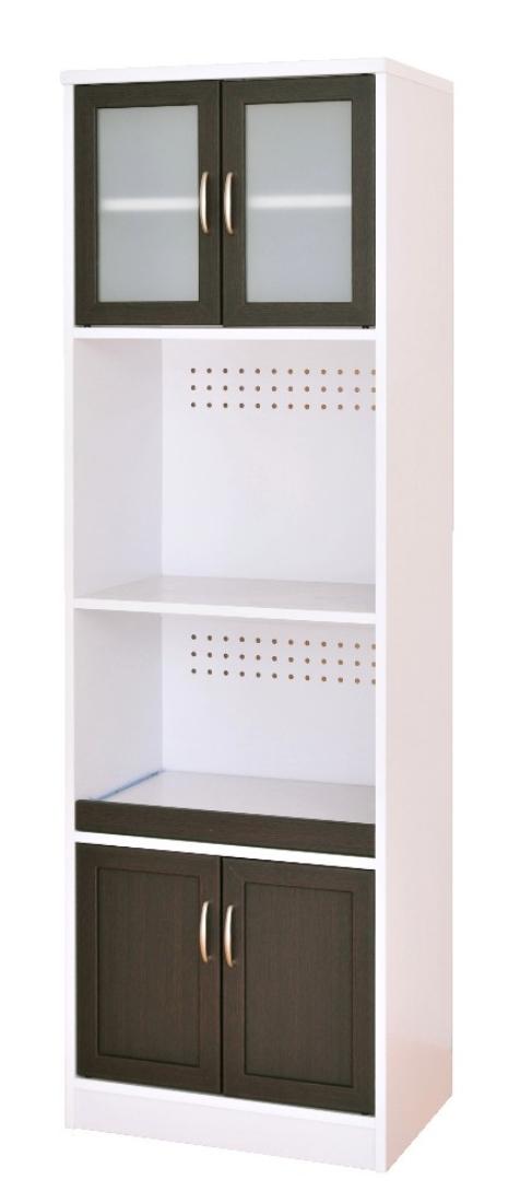 送料無料 オシャレ 家具 キッチン収納 Cafetira(カフェティラ)レンジ台(ハイタイプ/60cm幅) オシャレ