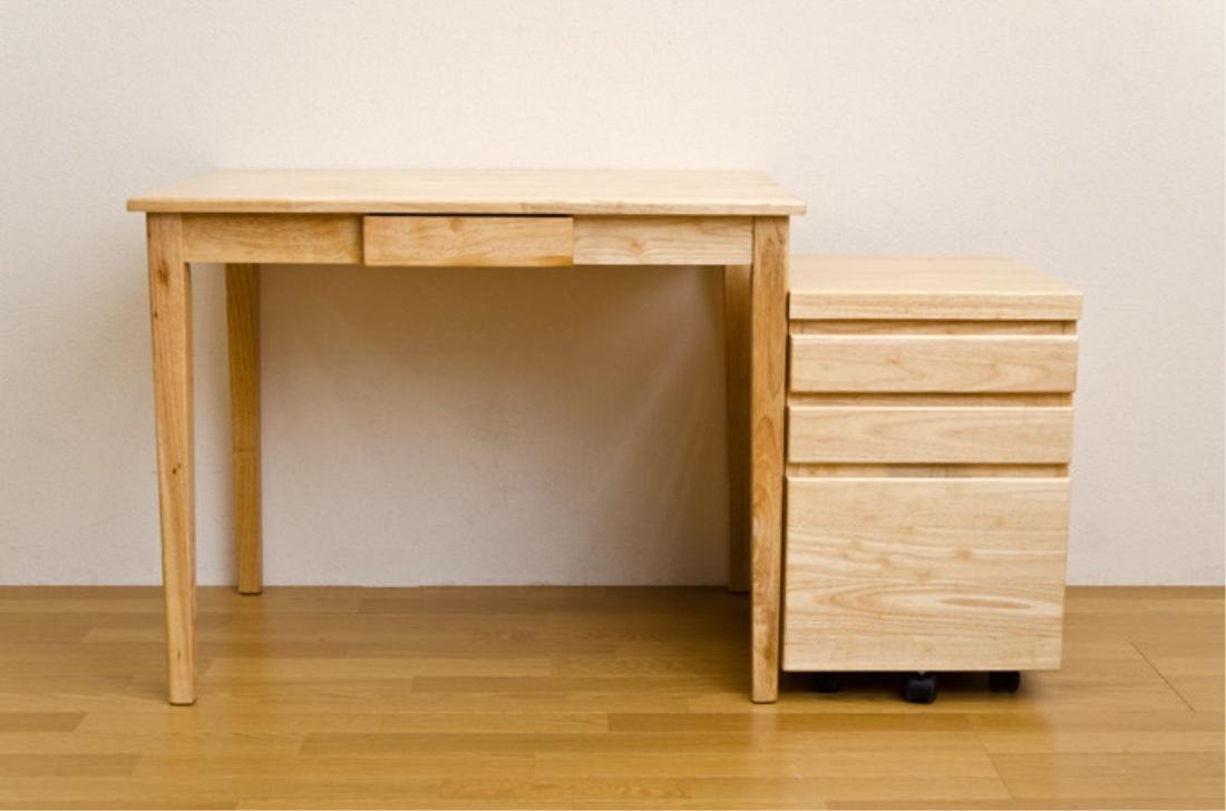 送料無料 オシャレ 家具 机 テーブル 木製テーブル(デスク) 90x60【離島・日時指定不可】