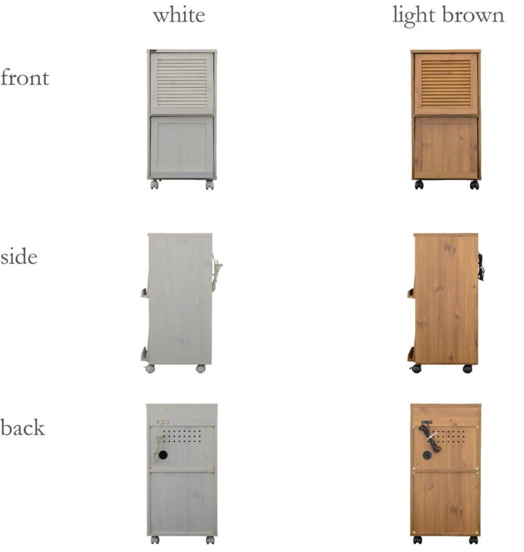 送料無料 オシャレ 家具 台所収納 キッチン 収納 ROVII(ロヴィ)キッチンワゴン(45cm幅) オシャレ