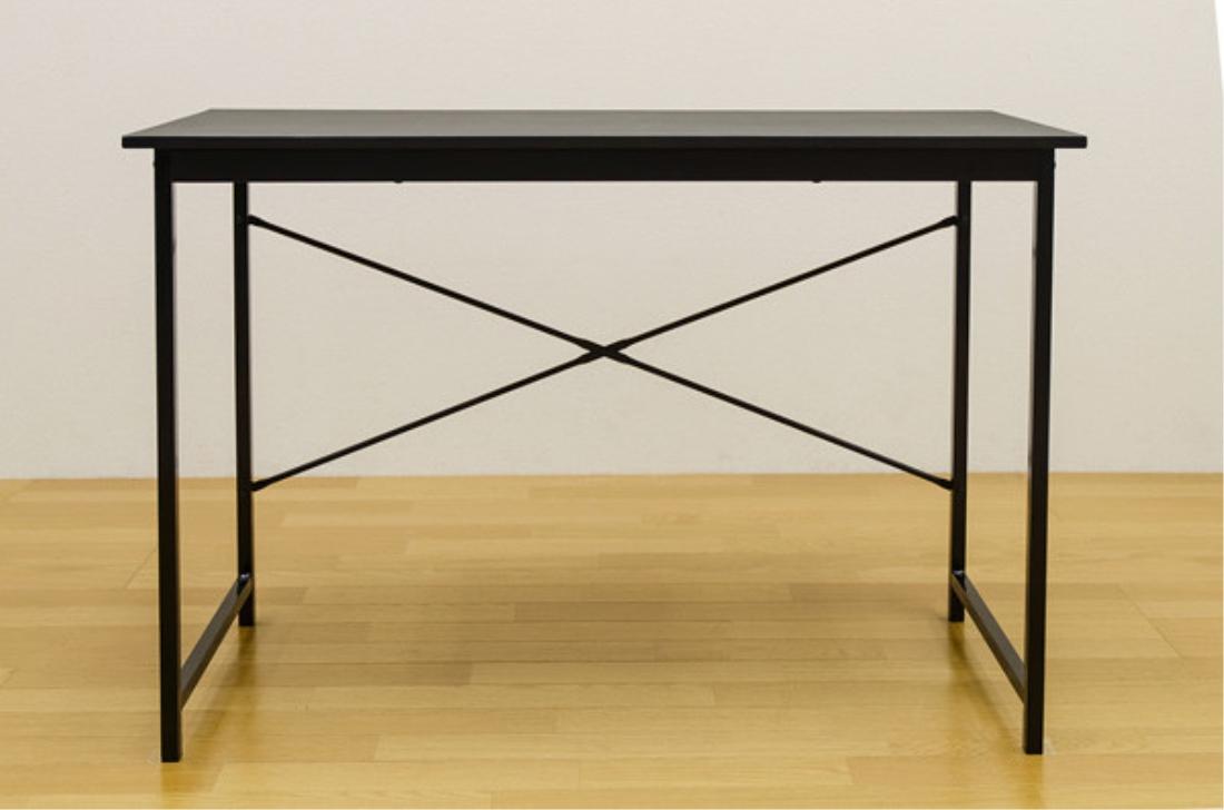 送料無料 オシャレ 家具 シンプルデスク 机 テーブル【離島・日時指定不可】