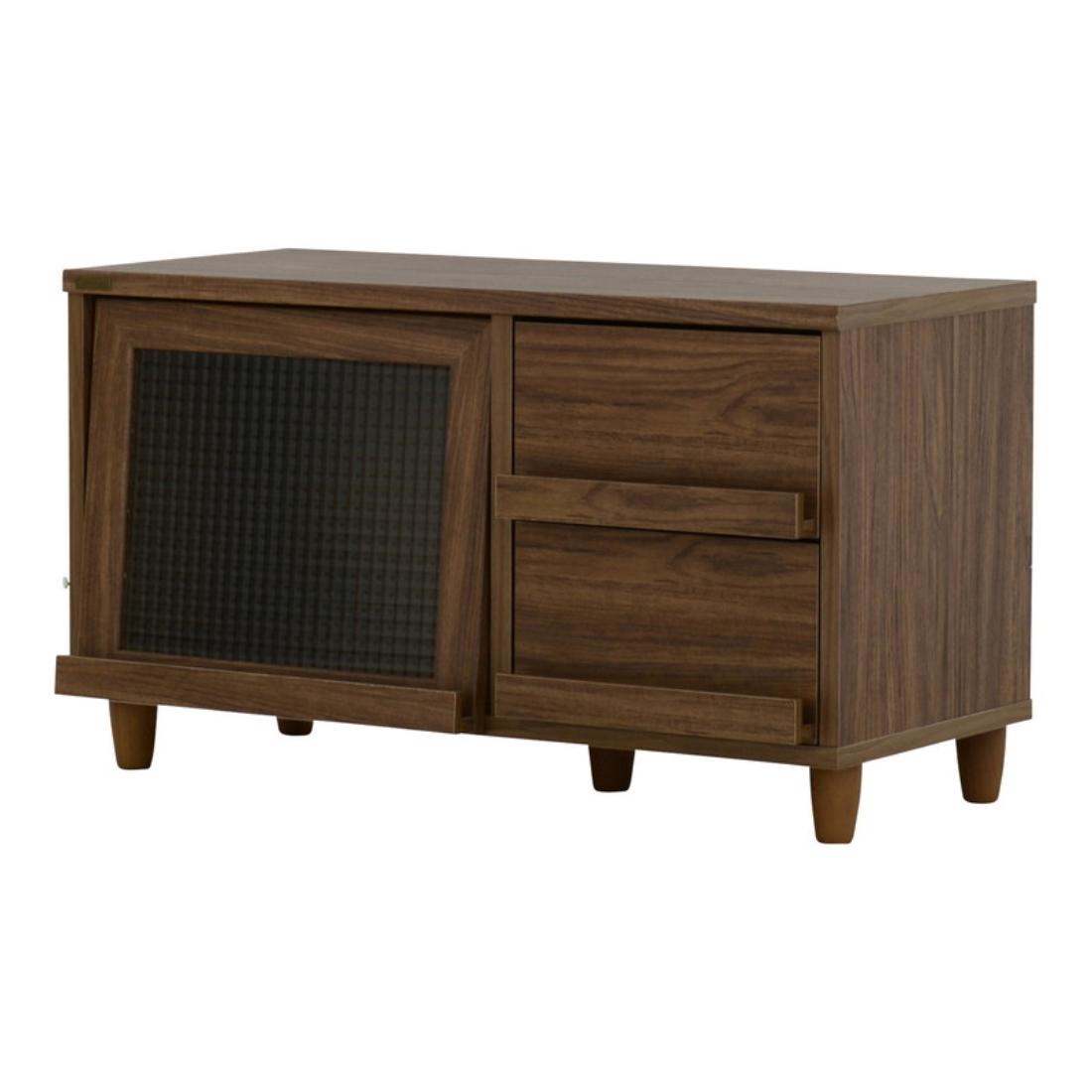 送料無料 オシャレ 家具 テレビ ボード TVボード NEFLAS(ネフラス)テレビ台 ローボード(90cm幅) オシャレ