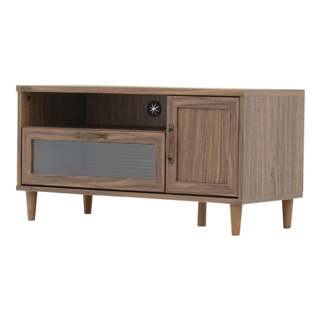 送料無料 オシャレ 家具 テレビ ボード TVボード POWRY(ポーリー)テレビ台 ローボード(90cm幅) オシャレ