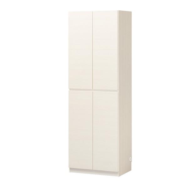 リビング 台 収納キャビネット サイドボード スッキリ 配線 スライド 棚 つき 木製 ウッドシェルフ PORTALE キャビネット 幅60 ホワイト