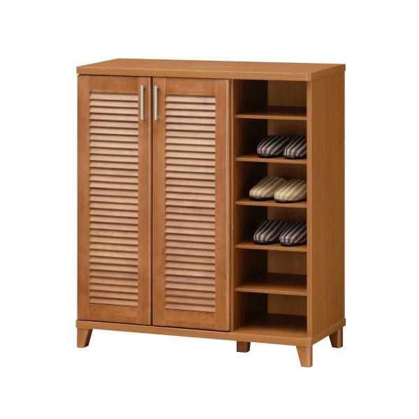 玄関収納 インテリア家具 シューズボックス 靴収納 落ち着いた 品 のある 玄関 に 組み立て ラック LUBANTE シューズラック