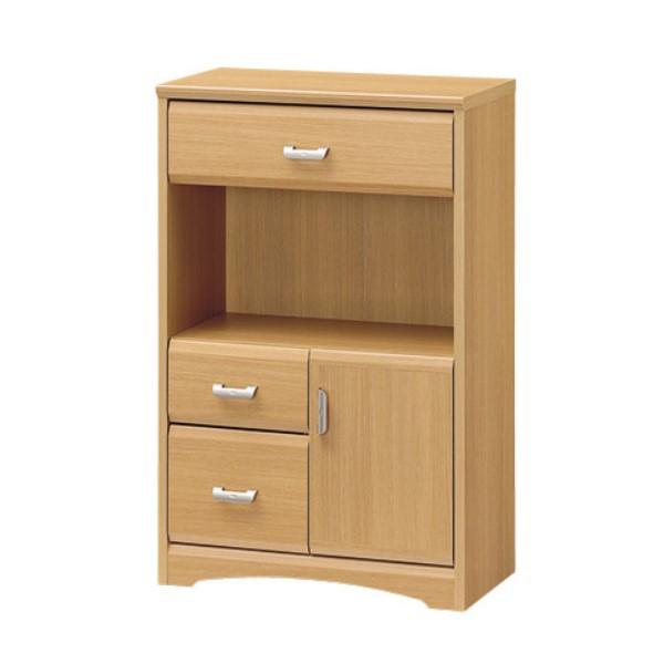 リビング 台 収納キャビネット サイドボード 小物が多い キッチン や リビング にも 素材 の 温もり を 感じられる お部屋 WEVERAN キャビネット 幅56.6cm