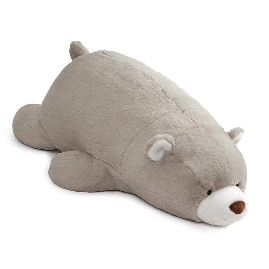 人形 ぬいぐるみ スナッフル ベア グレイ 抱きまくらオススメ 送料無料 生活 雑貨 通販