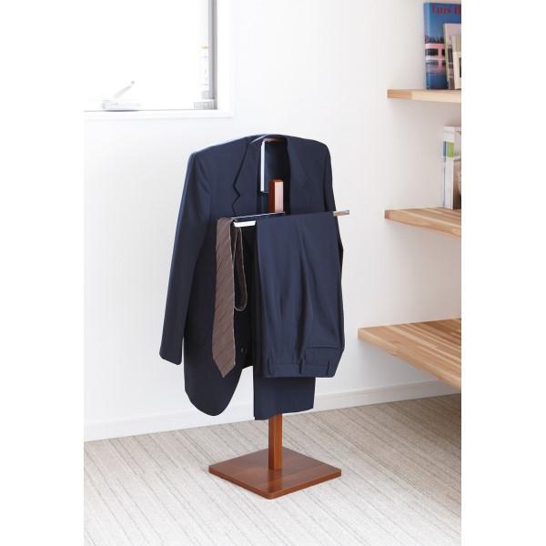 洋服掛け/コート掛け お部屋スッキリ 住まいと暮らし スーツラック