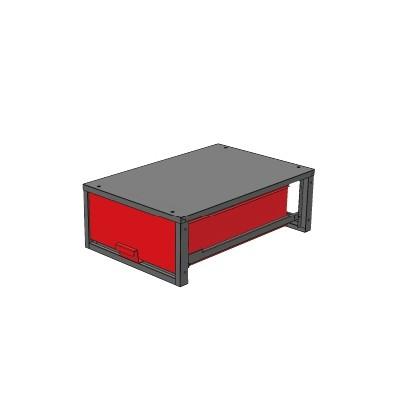 バンキャビネット 幅520×奥780×高265mm SCT-LF04お得 な 送料無料 人気 トレンド 雑貨 おしゃれ