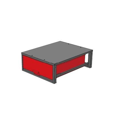 バンキャビネット 幅620×奥780×高265mm SCT-LF03お得 な全国一律 送料無料 日用品 便利 ユニーク