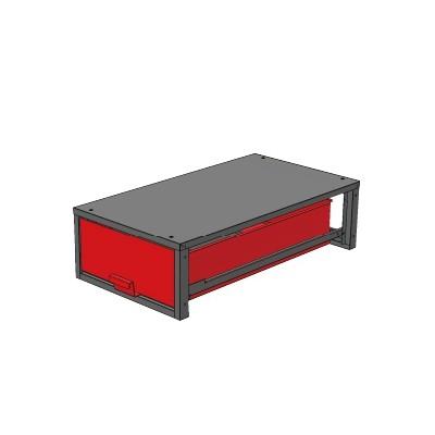 バンキャビネット 幅520×奥950×高265mm SCT-LF02お得 な 送料無料 人気 トレンド 雑貨 おしゃれ