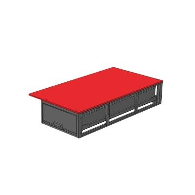 バンキャビネット 幅700×奥1300×高265mm SCT-F10お得 な全国一律 送料無料 日用品 便利 ユニーク
