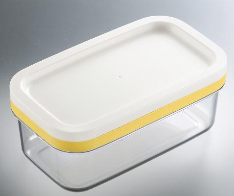 ラッピング無料 税込13200円以上購入で送料無料 SALE開催中 カットできちゃうバターケースギュッとひと押し ST-3005 約5gの薄切りにカットできる 爆売り