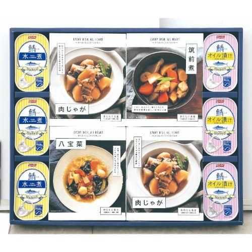 ラッピング無料 税込13200円以上購入で送料無料 LOHAS 安全 さば缶 和風総菜詰め合わせLH-DO ファクトリーアウトレット