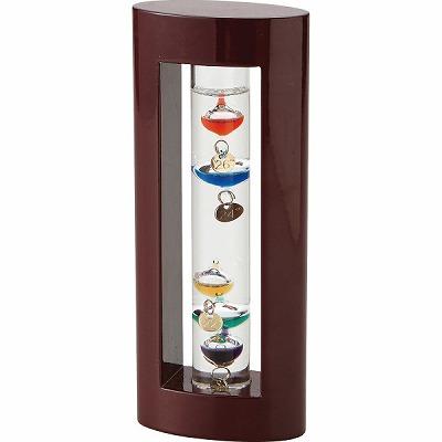 正規品送料無料 ガレリオ ガレリーが発見した原理を使って作られた品格のある温度計ガラスフロート温度計 333-200 S 贈答品