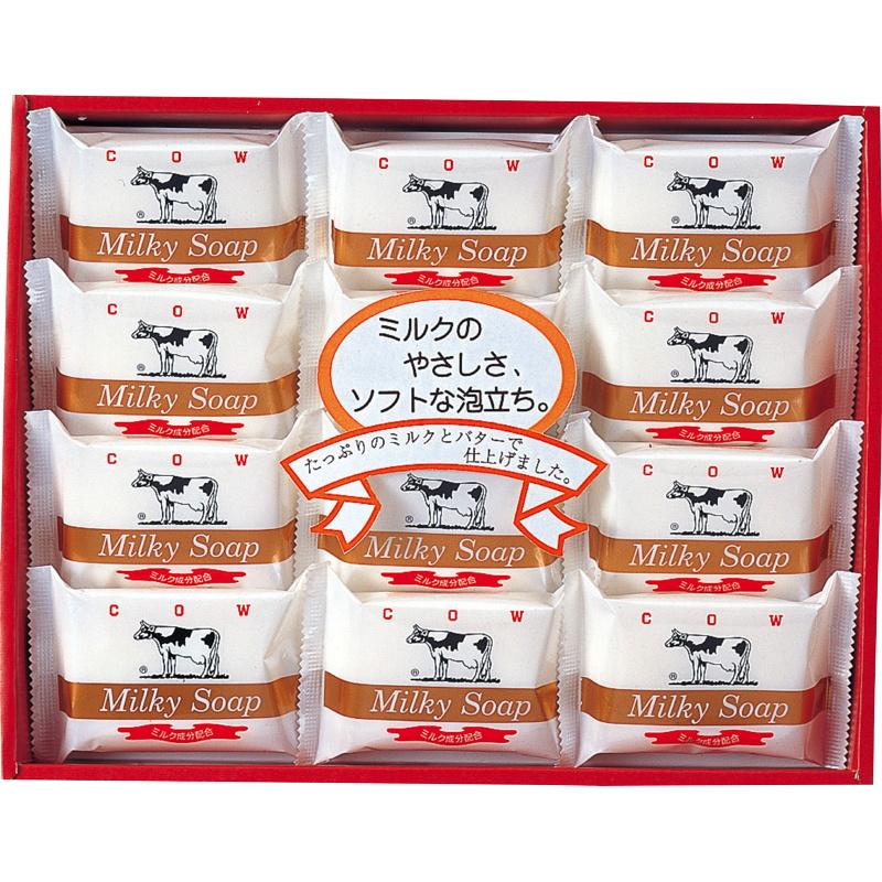 牛乳石鹸 お洒落 贈物 ゴールドソープセットAG-15M