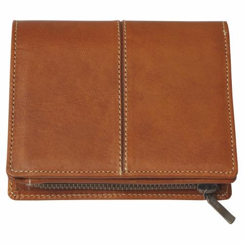 日本製牛革二つ折れ財布 No150K18-244