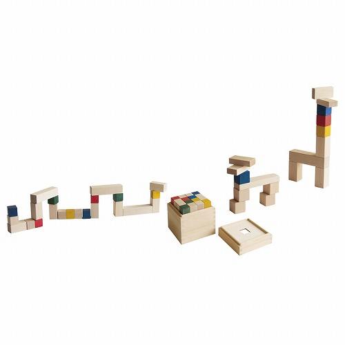 """積み木 CUBICOLO BASE(クビコロ/ベース)CUBICOLO""""は3cm基尺の積み木です"""