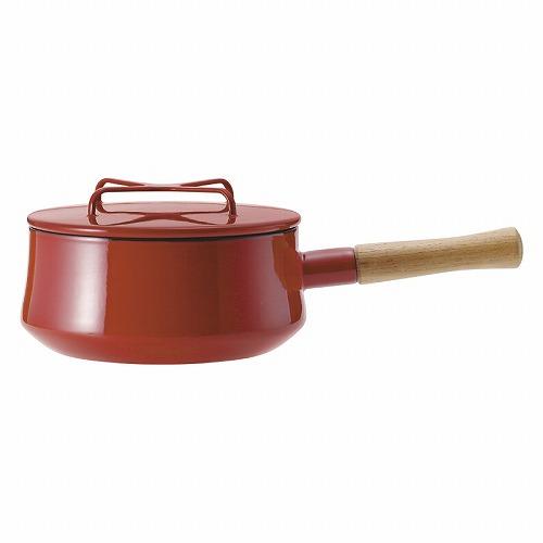 ダンスク コベンスタイル2 片手鍋18cm834298/ 833298クロスの形をした持ち手のフタは重ねて収納でき、鍋敷きにもなる優れものです。