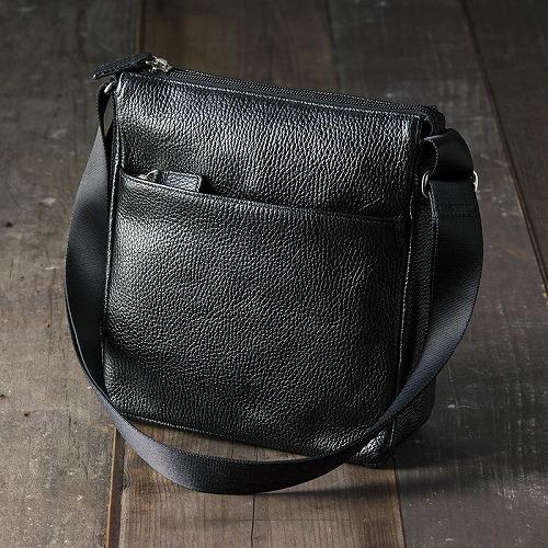 良品工房 日本製牛革手作り ショルダーバッグB0110-114B