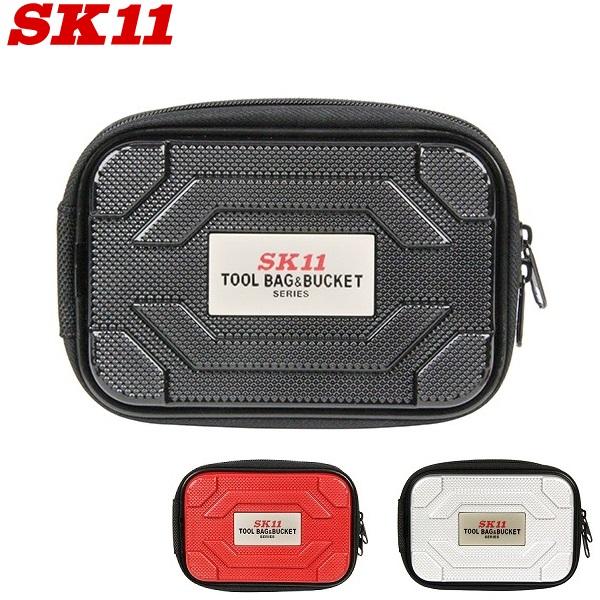 (人気激安) 軽量でタフなABS樹脂製素材のツールポーチです SK11 ツールポーチ 本日限定 STP-ABS 腰袋 パーツケース 携帯ケース 工具入れ 工具バッグ ツールケース