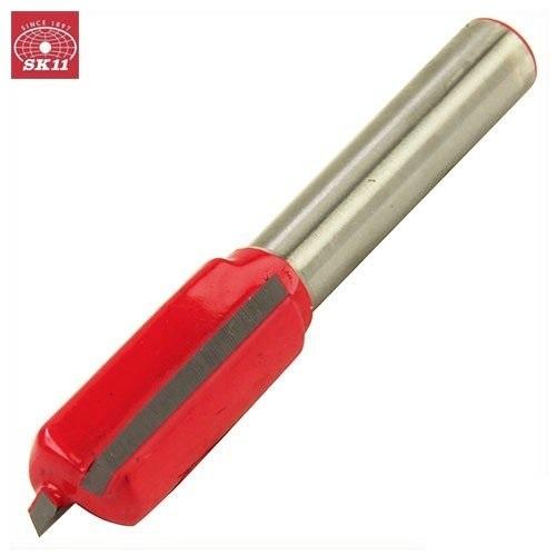 木材の溝堀加工や面取り作業に最適です SK11 ストレートビット SRB-7 トリマー用 10mm 軸径:6mm 木工用 トリマービット