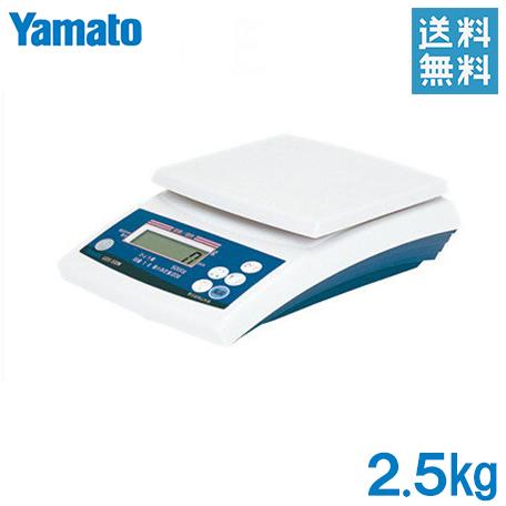 【送料無料】大和 はかり デジタル スケール 2.5kg デジタル 上皿はかり UDS-500N-2.5[秤 量り 電子スケール 業務用 計量器 上皿はかり 農業用品]