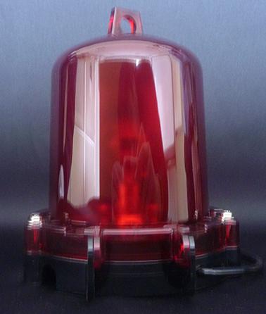 日本船燈 第二種紅灯 JB-BR1 電気用 [小型船灯 小型標識灯 船舶照明 船舶用品 船具]