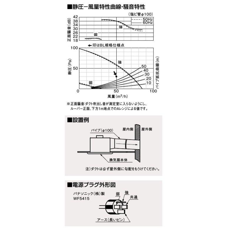 パナソニック ダクト用 換気扇 FY 17C6VBL1 埋込寸法 177mm 低騒音 ルーバーセット天井 トイレ PanasO80wknP
