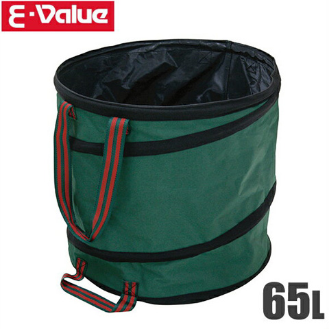 道具の運搬やゴミ 落ち葉の収集に便利です セフティ3 ガーデンバケツ 65L EKGB-65 落ち葉掃除 簡易ゴミ箱 往復送料無料 園芸用 通信販売 ガーデンバック 折りたたみ 工具バッグ