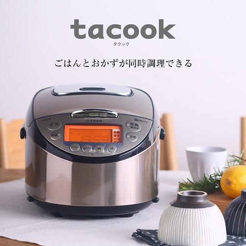 タイガー IH炊飯器 IH炊飯ジャー 5.5合炊き JKT-J102-TP パールブラウン