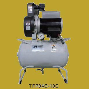 アネスト岩田(イワタ)コンプレッサー レシプロ オイルフリータイプ TFP04C-10M 三相200V 1/2馬力