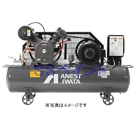 アネスト岩田(イワタ)コンプレッサー レシプロ オイルタイプ TLP15EF-10 M5/M6 三相200V 2馬力