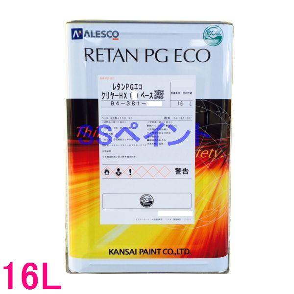 カンペ 94-381-034 レタンPGエコ クリヤーHX(M) 16L(一斗缶サイズ)