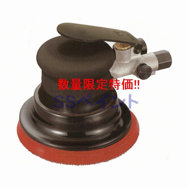 SI-3101の限定ブラックモデル D 数量限定 信濃機販 SINANO 激安セール ダブルアクションサンダー エアツール 25%OFF SI-303 非吸塵式 使用可能ペーパー:マジック式