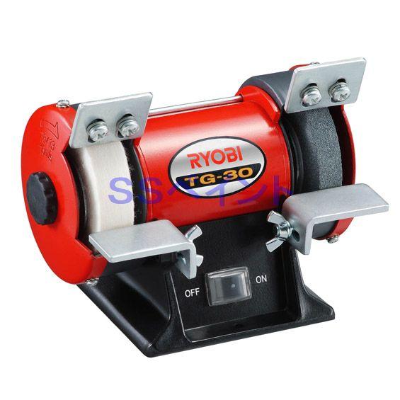 リョービのミニ卓上グラインダー 予約販売 リョービ RYOBI ミニ卓上グラインダー 驚きの価格が実現 TG-30 日本正規代理店品