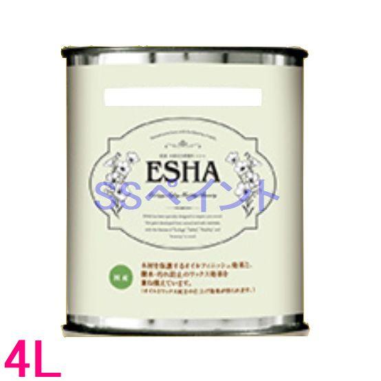 ターナー色彩 自然塗料 エシャ クリアオイル ラピッド 4L