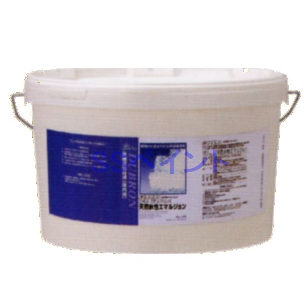 リボス自然塗料 デュブロン 室内用天然水性エマルション 内装用 壁用 色:白 5L