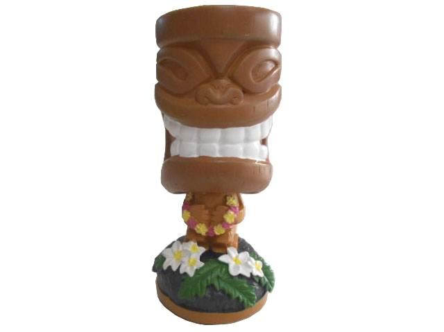 Bahama&Co Tropical TIKI Air Freshener巴哈马·pinyakorada·tiki·夏威夷·Fra·purumeria、芳香剂、furesshuna、车、kafuresshuna、头颈样子玩偶、仪表板·多尔