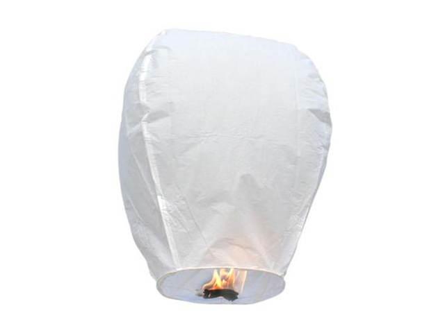 スカイランタン 願いを書いて大空へ Sky Lanterns 激安挑戦中 Eco ホワイトスカイランタン ランタン 気球 販売 風船 エコ 海外限定