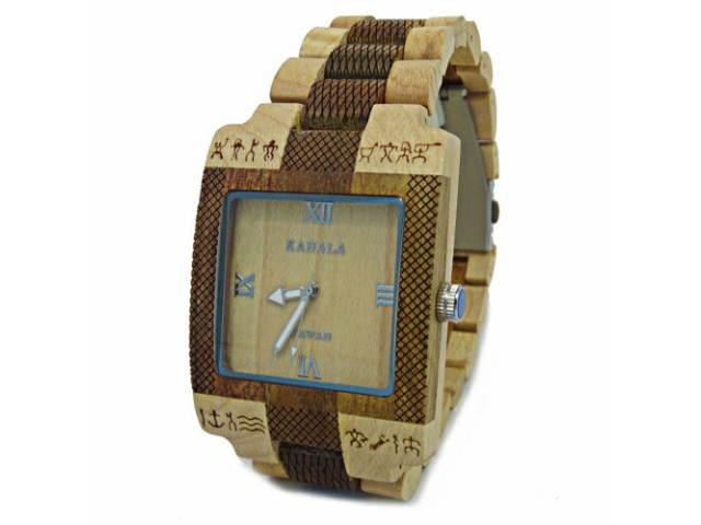 **KAHALA WOODEN WATCH #3 ハワイアン・コアウッド・木製・アクセサリー・腕時計・ハワイ・Hawaii・hawaii・ロコ・ウッド