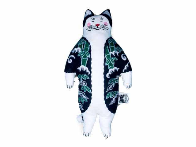 MONMON CATS Tiger Cat Plush Doll モンモンキャット・人形・ドール・ぬいぐるみ・猫・入れ墨・刺青・イレズミ・tattoo・タトゥー・ねこ・ネコ・虎・トラ・アメリカ・カリフォルニア