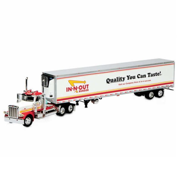 IN-N-OUT-BURGER DIE-CAST TRUCK 1/16 インアウトバーガー ダイキャスト トラック・トレーラー・TOY・ミニカー・アメリカ・アメリカン・ハンバーガー屋・CA・カリフォルニア・インナウトバーガー