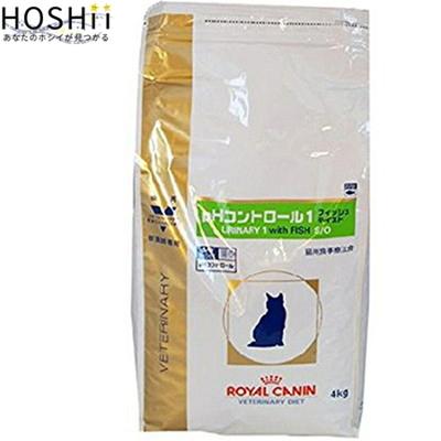 ロイヤルカナン pHコントロール1 フイッシュテイスト 猫 4kg ( ベテリナリーダイエット ROYAL CANIN キャットフード 療法食 )
