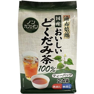 国産おいしいどくだみ茶100% 3g×24包 ( 玉露園 )