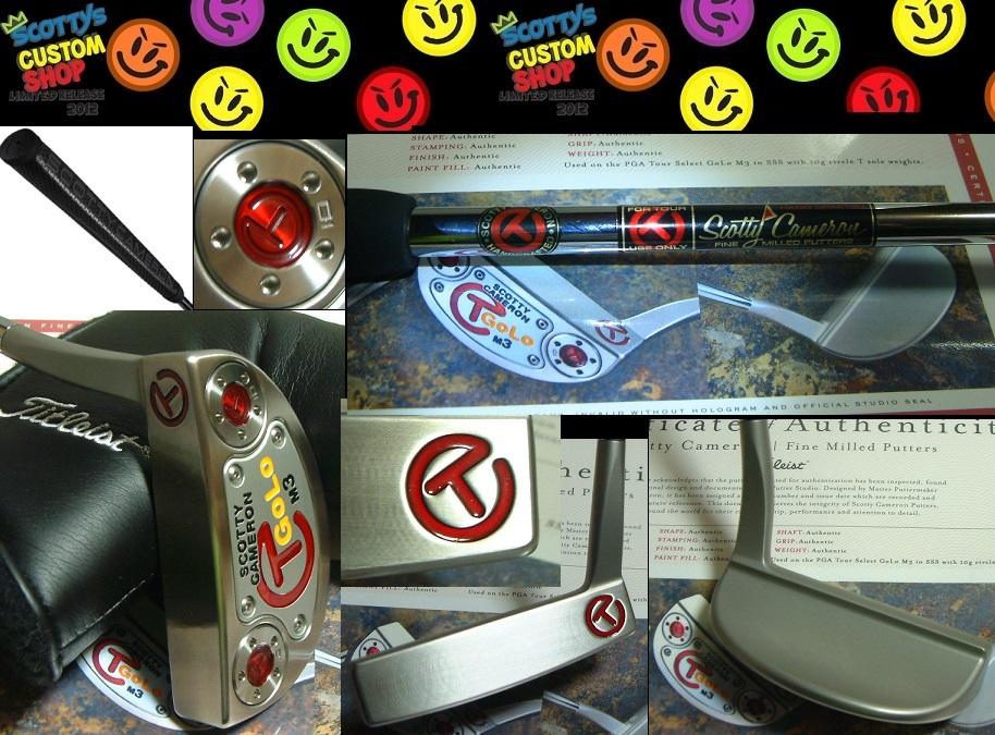 ★送料込!GoLo M3 Tour Prototype Circle TGOLO M3 プロトタイプCAMERON GoLo M3 Tour Only SSS35inD8 10gx2スタジオ証明書付
