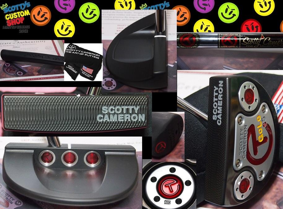 ★送料込!GoLo S5 Tour Prototype Circle TGOLO S5 センター プロトタイプCAMERON GoLo S5 Titleist Tour Onlyスタジオ証明書付