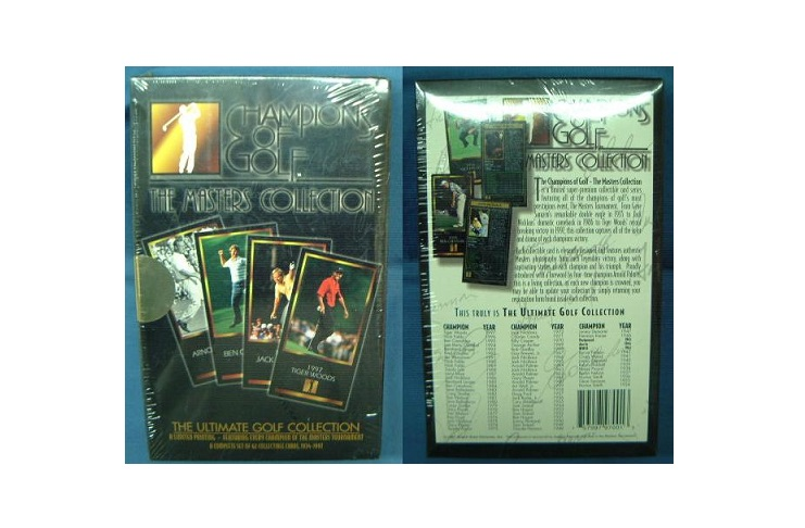 CHAMPIONS OF GOLF 「MASTERS COLLECTION」 歴代優勝者 カードセットデッドストック 未開封品