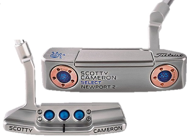 ★PUTTER OF THE DAY 2016Jackpot Johnny 刻印★特注!キャメロン カスタムショップ2016 シルバーセレクト NP2Jackpot Johnny 刻印 30gx233in/D8