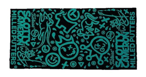 ★送料込★キャメロン Scotty CameronScotty's Custom Shop2016 Scotty's Greatest HitsGolf Towel New 在庫限り